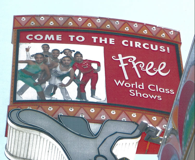 Ongoing shows at Circus Circus